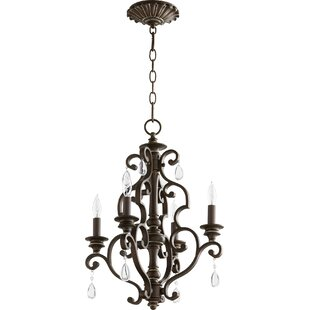 Ophelia & Co. Miley 4-Light Candle Style Chandelier