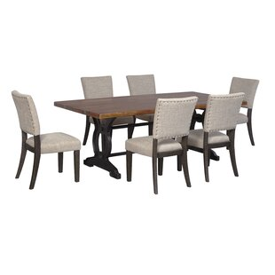 Teesha Solid Wood Dining Table by Gracie Oaks