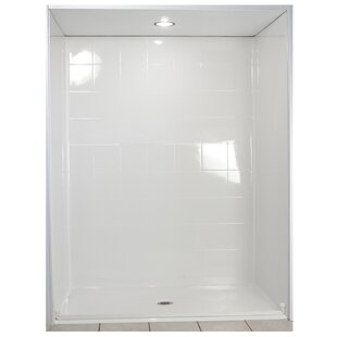 Standard Four Panel Shower Wall