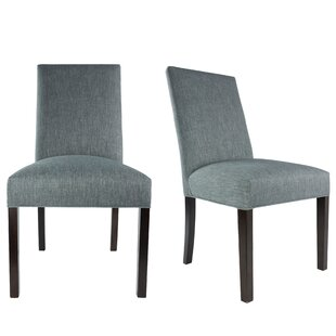 Sole Designs SL3000 Upholstered Parsons Chair (Set of 2)