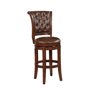 Fleur De Lis Living Whicker Bar Stool