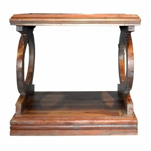 Millwood Pines Wootton Wooden Side End Table