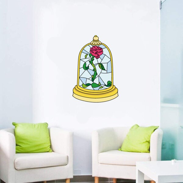 Beauty and The Beast Wallpaper Bespoke Backdrop Wall Mural Feature Wall Decal