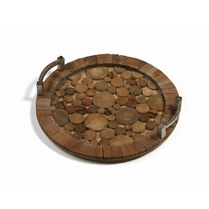 Reclaimed Wood/Metal Serving Tray