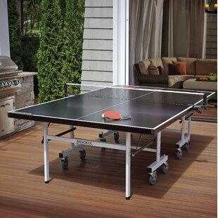 Smash Folding Indoor/Outdoor Table Tennis Table ByBrunswick Billiards