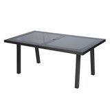 Isidore Glass Dining Table