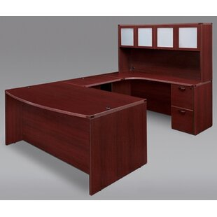 Flexsteel Contract Fairplex Right/Left Executive U-Shape Desk Office Suite