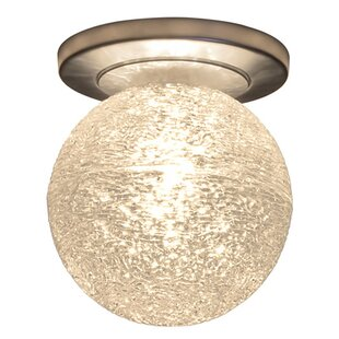Bruck Lighting Dazzle 1-Light Flush Mount