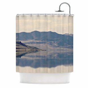 Reflective II Single Shower Curtain