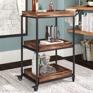 Anvesh 3 Tier Bar Cart by 17 Stories