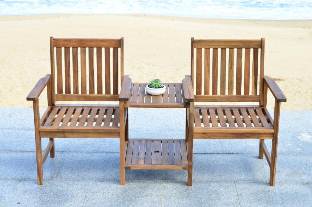 safavieh 2 sitzer gartenbank cartagena bewertungen. Black Bedroom Furniture Sets. Home Design Ideas