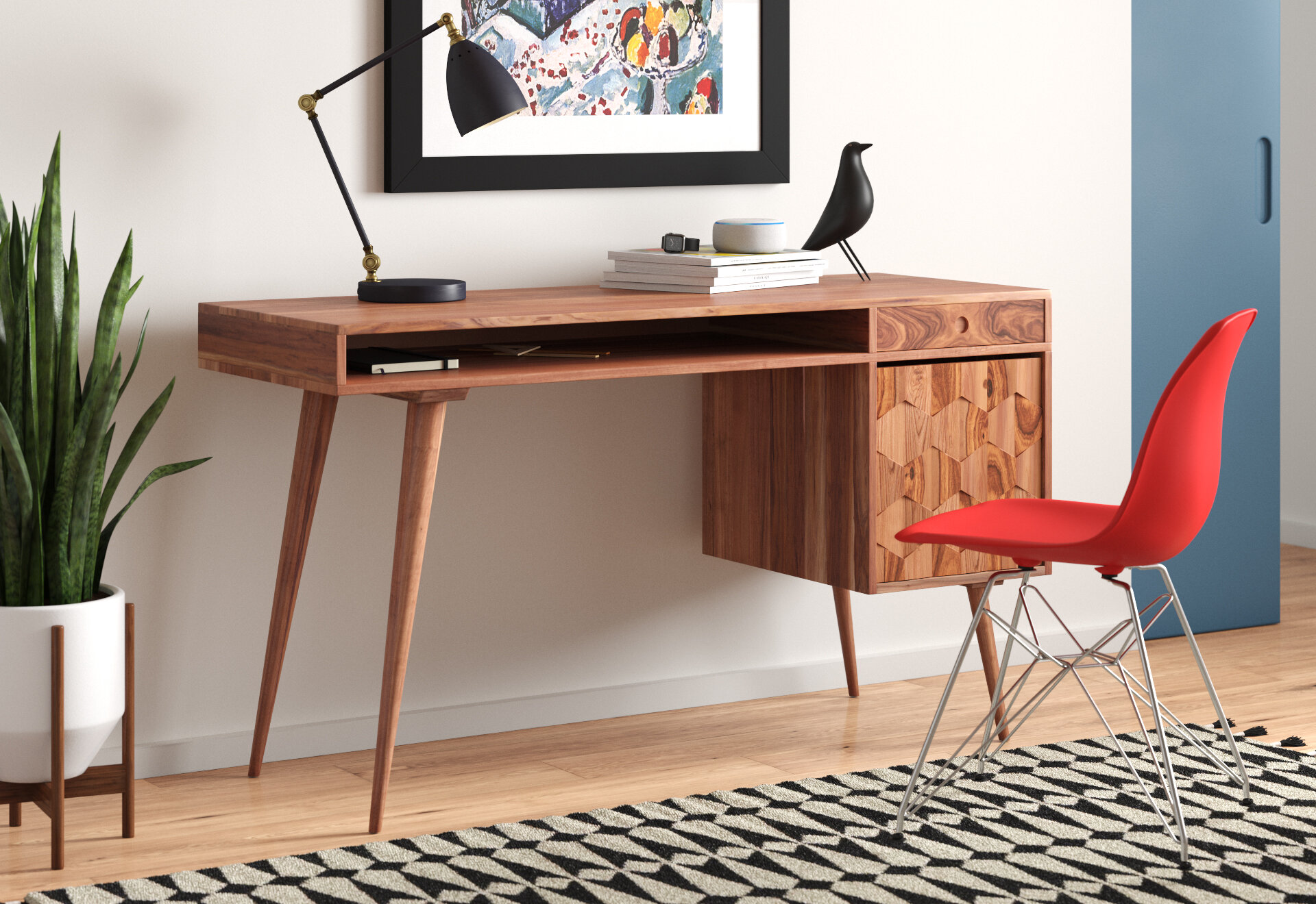 Mid-Century Modern Office Ideas  AllModern