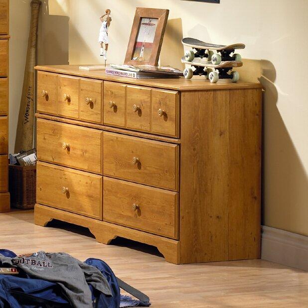 Little Treasures 6 Drawer Double Dresser