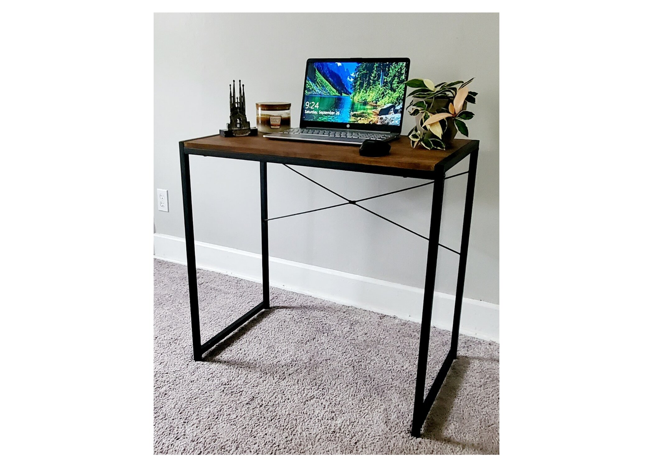 17 Stories Manufactured Wood Writing Desk Wayfair