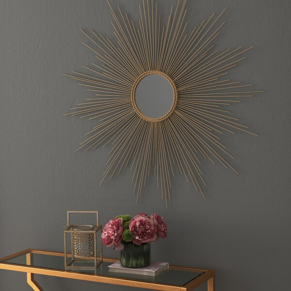 Willa Arlo Interiors Traditional Metal Wall Mirror