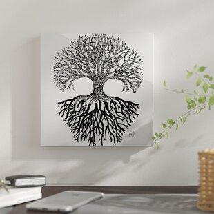 The Tree Of Life Graphic Art Print On Metal