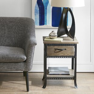 Laurel Foundry Modern Farmhouse Remy End Table With Storage