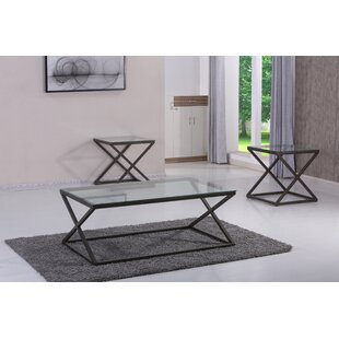Billips 3 Piece Coffee Table Set