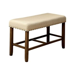 Wanda Wood Bench by Gracie Oaks