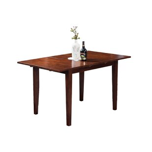 TTP Furnish Armstrong Extendable Solid Wood Dining Table