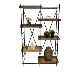 Carlie 6 Layers Etagere Shelving Unit by 17 Stories