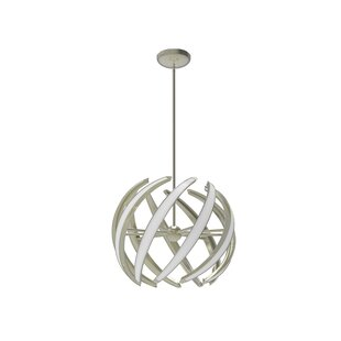 Swirl 9-Light Globe Pendant by Blackjack Lighting