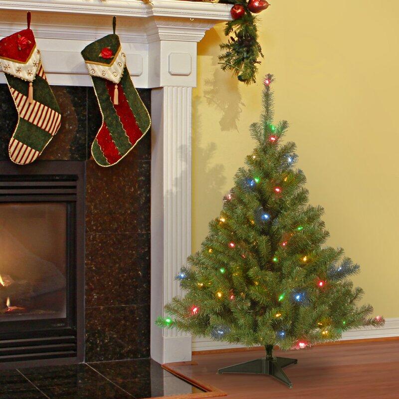 Christmas Tree Gates For Dogs: Ebern Designs Kincaid Spruce 4' Green Artificial Christmas