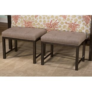 Galena Upholstered Bench by Gracie Oaks Coupon