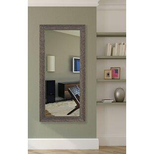 Wood Framed Floor Mirror | Wayfair