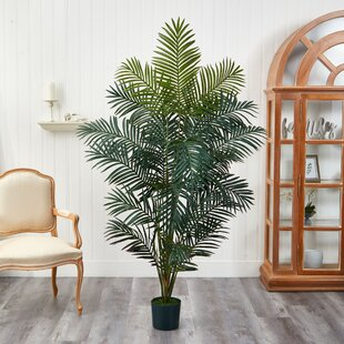 77'' Artificial Palm Tree in Pot