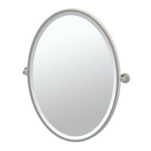 Reviews Channel Bathroom/Vanity Mirror By Gatco