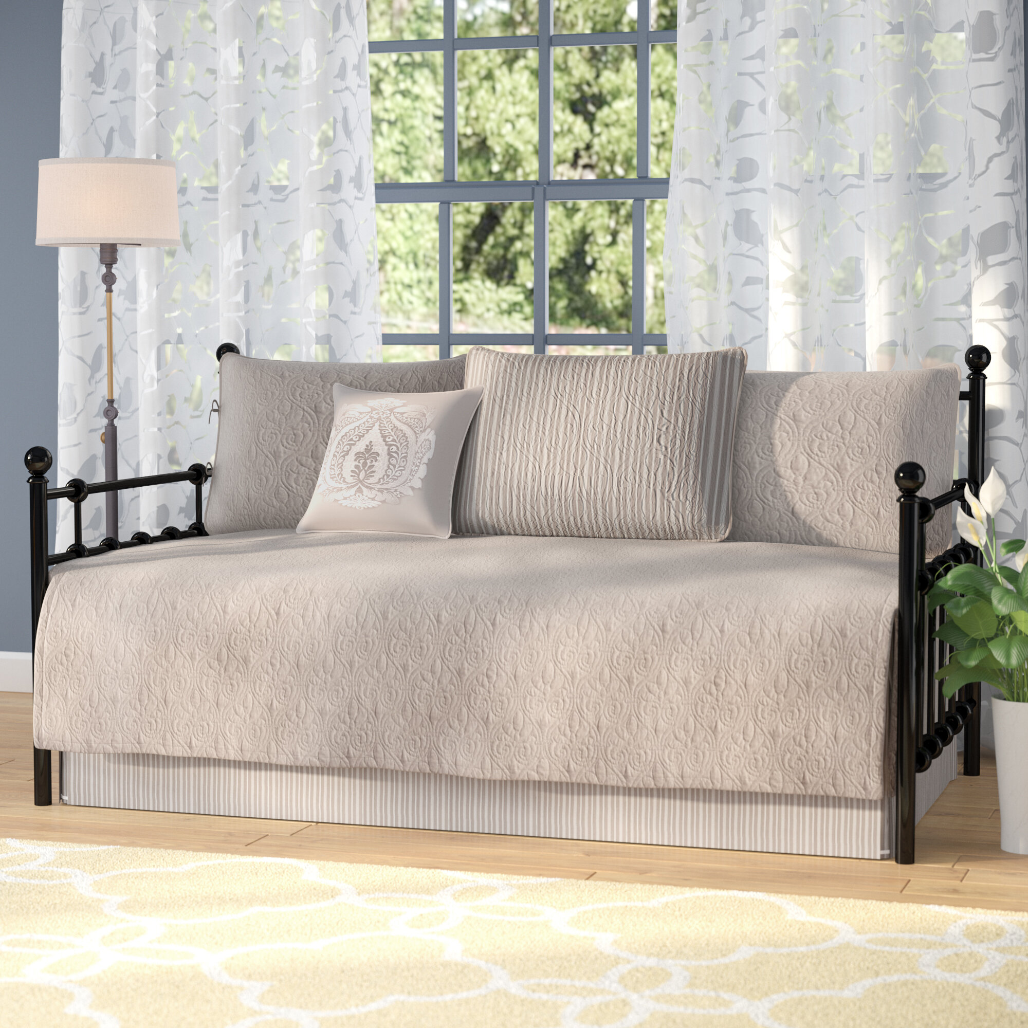 The Twillery Co. Epping 6 Piece Reversible Daybed Cover