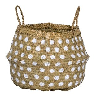 Seagr Basket With Dots