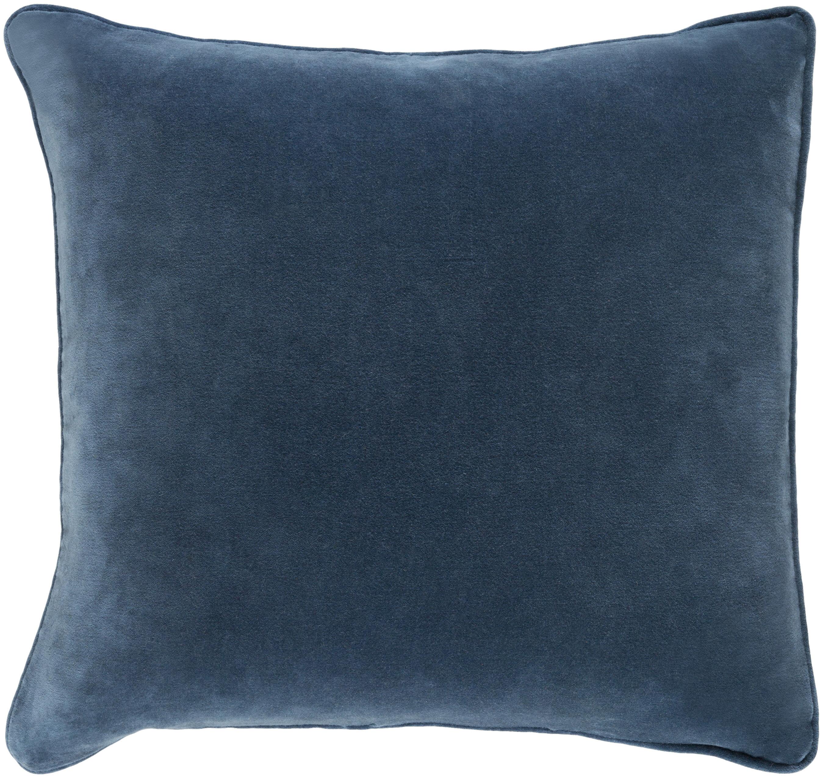 Willa Arlo Interiors Baylie Square Cotton Velvet Pillow Cover ...