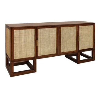 4 Door Accent Cabinet by Worlds Away SKU:EE149726 Price Compare