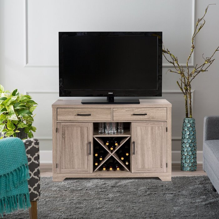 meet 0a69f 66171 Fonville Buffet Cabinet Sideboard Console Storage TV Stand