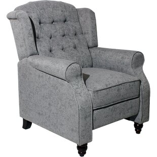 Matherville Manual No Motion Recliner By ClassicLiving