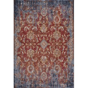 Check Prices Rothsay Red/Purple Area Rug By Astoria Grand