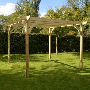 Deals Price Randi Manufactured Wood Pergola