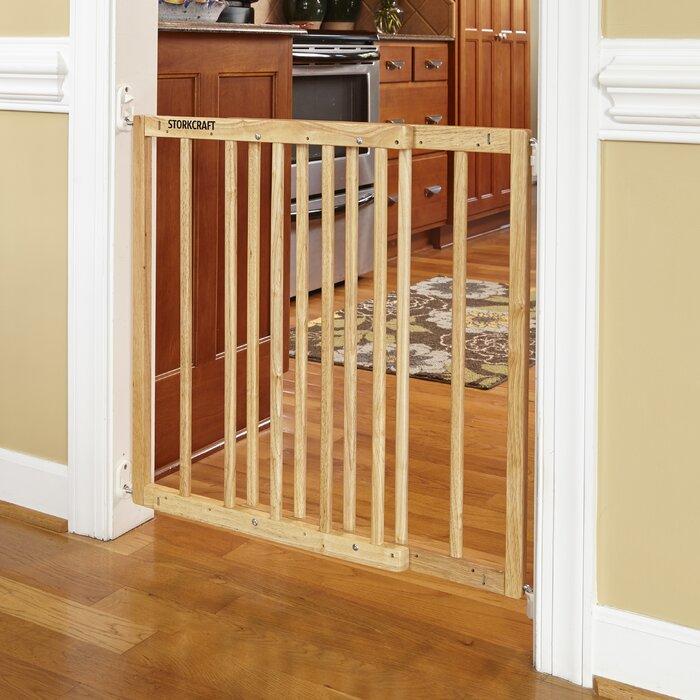 Easy Walk Thru Wooden Safety Gate