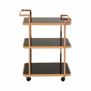 Redding Serving Cart By Canora Grey