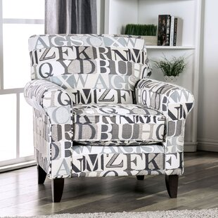 Gayden Rolled Letter Armchair by Latitude Run