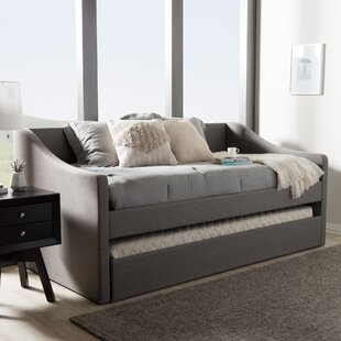 Cadena Twin Daybed with Trundle by Charlton Home
