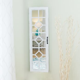 Kaniel Over The Door Jewelry Armoire with Mirror