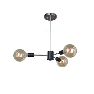 Woodbridge Lighting Ethan 3-Light Sputnik Chandelier