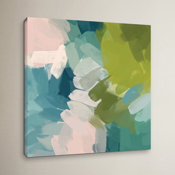 Calm Colours I Painting Print On Wrapped Canvas