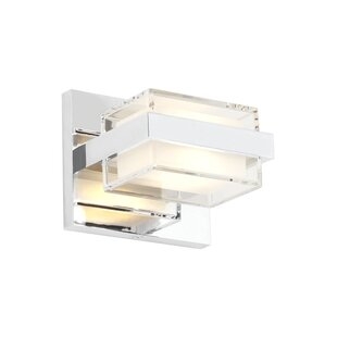 Ariella 1-Light LED Armed Sconce by Latitude Run