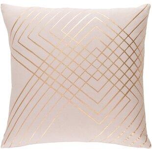 Caressa Woven Cotton Throw Pillow