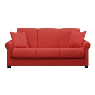 Crimson Red Sofa | Wayfair