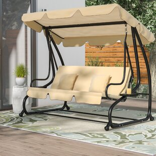 Marvale Porch Swing with Stand by Latitude Run